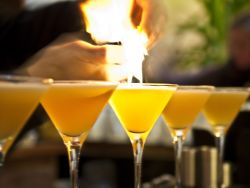 Flaming Gin & Earl Grey Martini Gallery