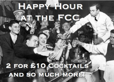 HAPPY HOUR AT THE FCC!